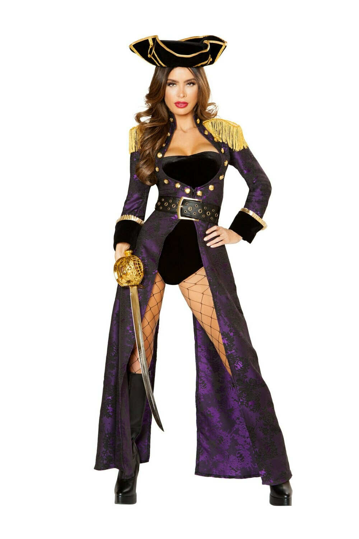 COSTUMES  PIRATE   4pc Pirate Queen