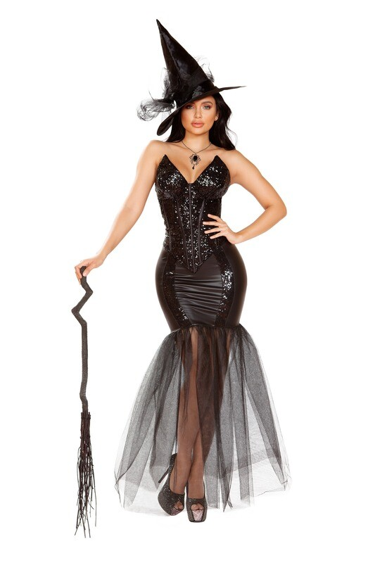 COSTUMES| WITCHES, VAMPIRES|  3pc Evil Spell Witch