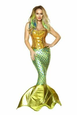 COSTUMES| MISCELLANEOUS|  2pc Siren of the Sea