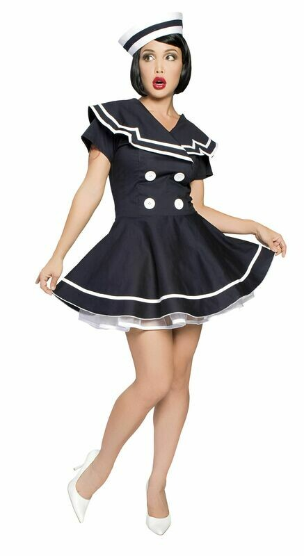 COSTUMES| MISCELLANEOUS|  2pc Pin up Captain