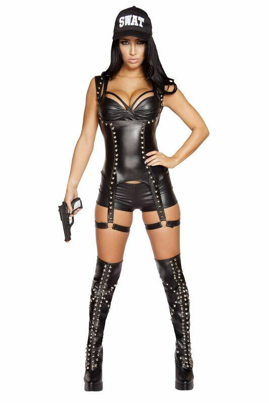 COSTUMES| COP|  3pc Seductive SWAT Agent