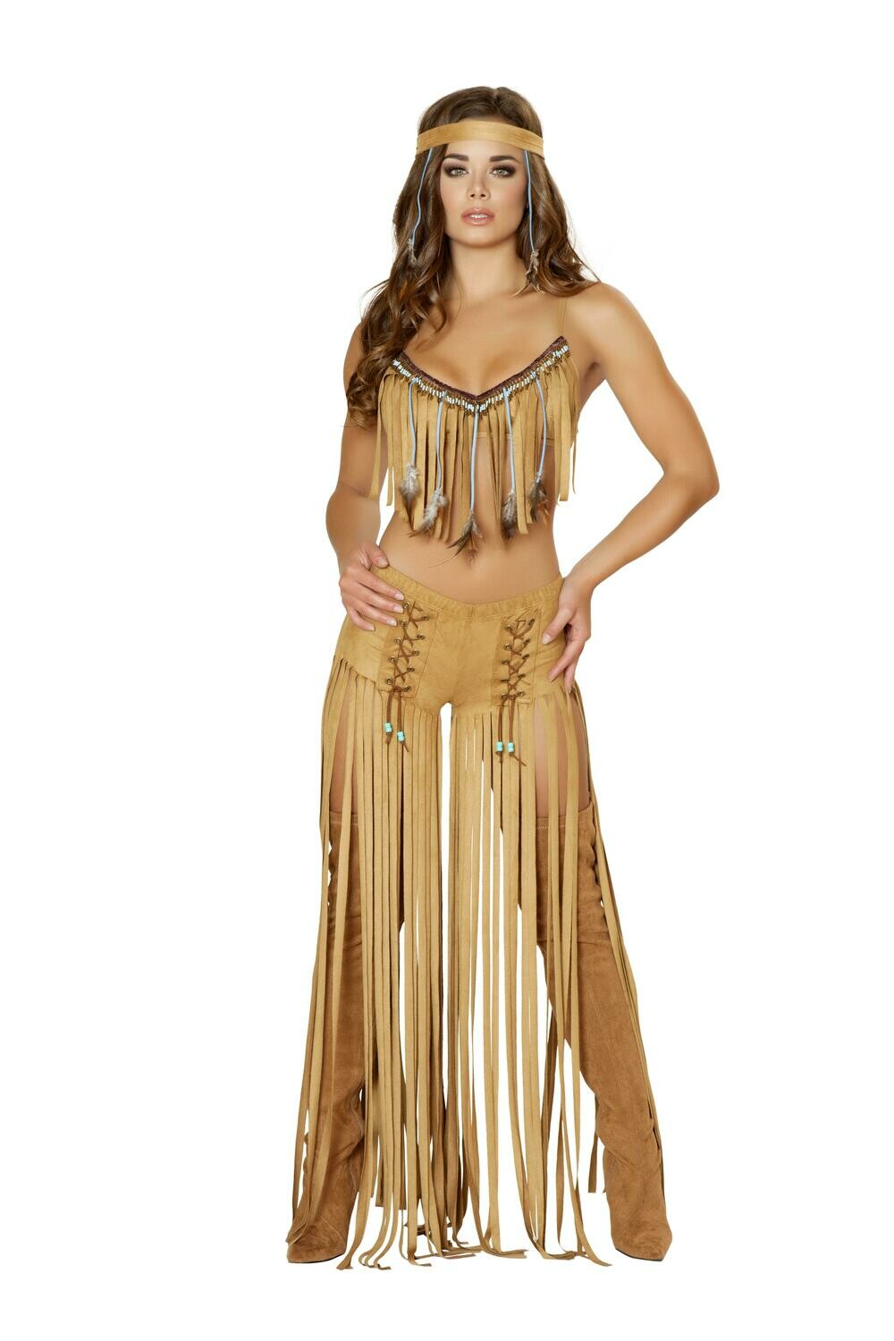 COSTUMES| MICELLANEOUS|  3pc American Indian Hottie