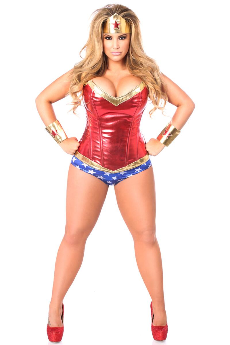 COSTUMES| Superhero| Superhero Corset Costume