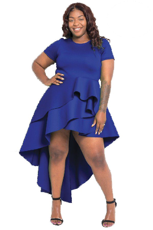 DRESSES| Hi/Low Layered Dress from Discount Diva Styles