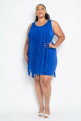 DRESSES| Fringe Dress from Discount Diva Styles