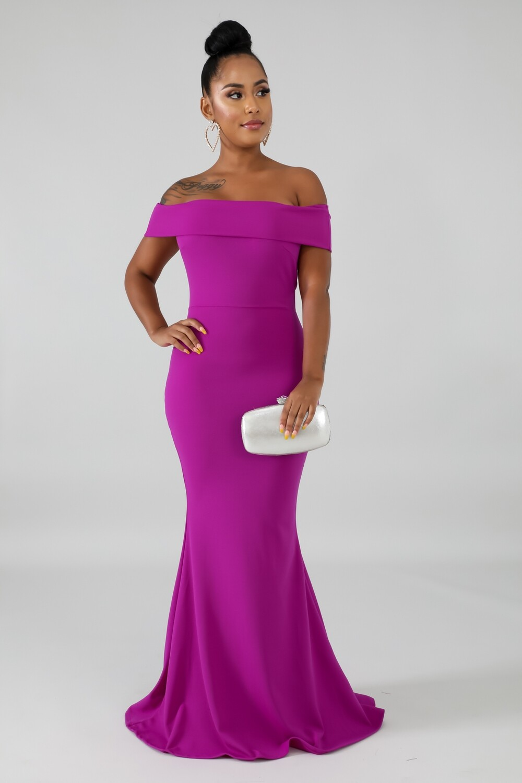 Dresses| Flare Tail Maxi Dress