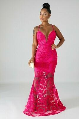 Dresses  Ribbon Swirl Mermaid Dress