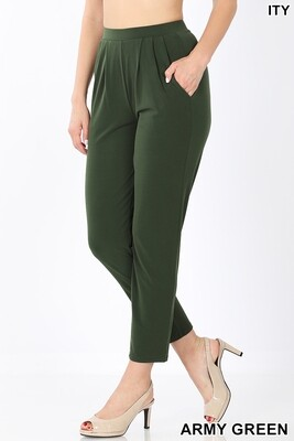 Pants| Pleated Waist Pants