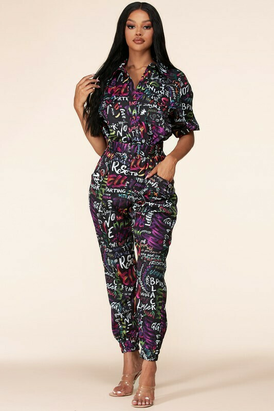 Jumpsuits | The Funky Groove Utility Jumpsuit