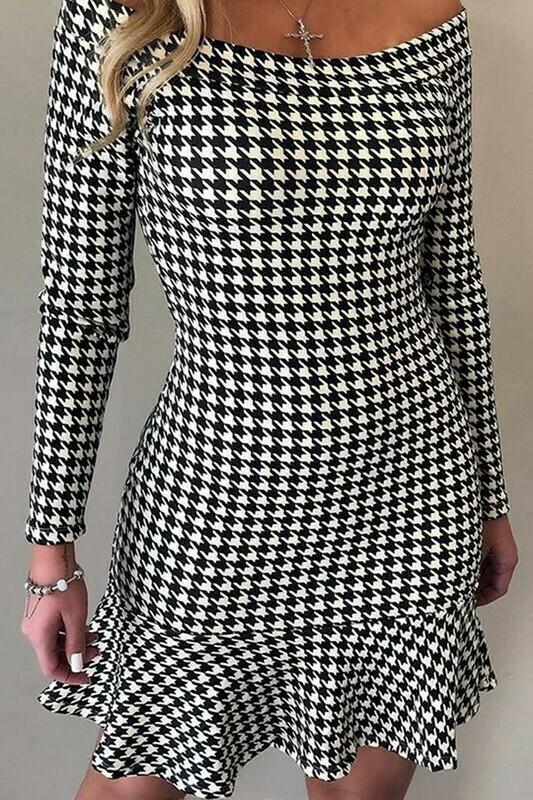 Dresses   Off-The-Shoulder-Knit-Dress
