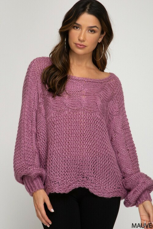 Sweaters | Chunky-Cable-Sweater