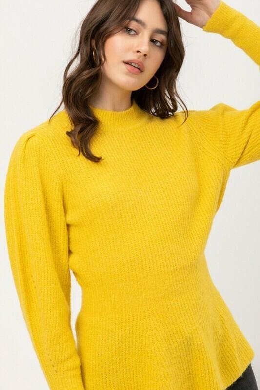 Sweaters   Tweed-Puff-Sweater