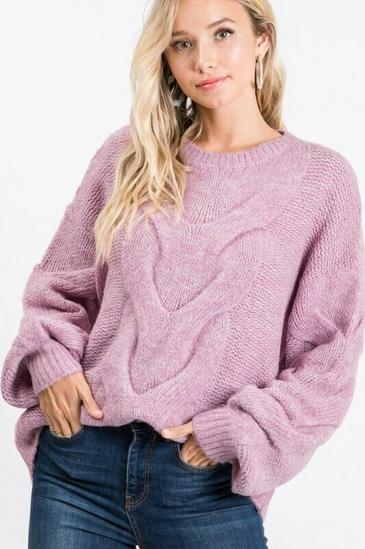 Sweaters | Spiral-Twist-Cable-Pullover