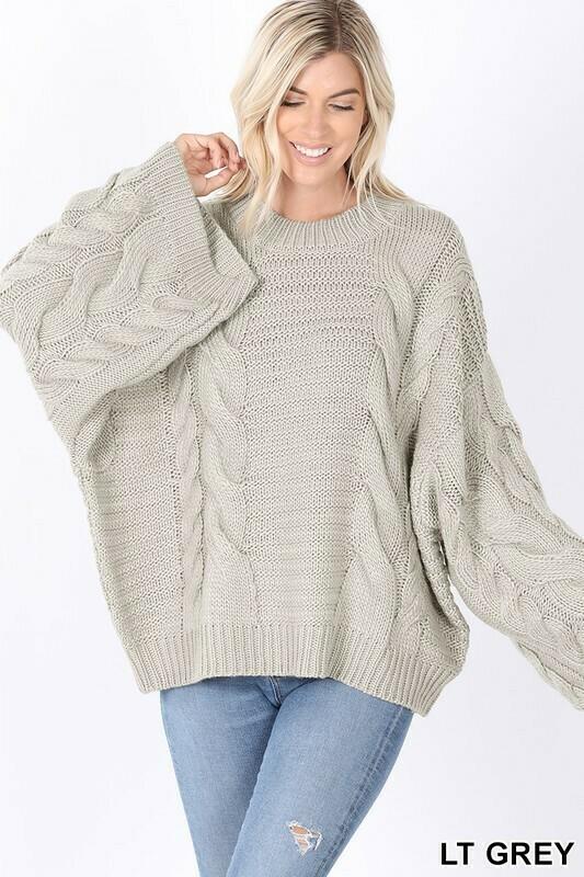 Sweaters | Oversize-Sweater