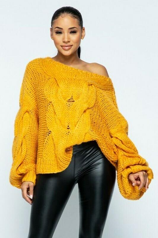Sweaters   Bulky-Handmade-Sweater