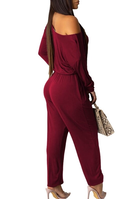 Jumpsuits | One-Piece-Off-The-Shoulder-Jumpsuit