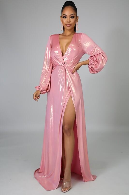 Dresses |Sexy-Deep-V-Neckline-Gown