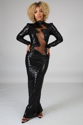 Dresses  Sexy-Sequin-Mermaid-Gown