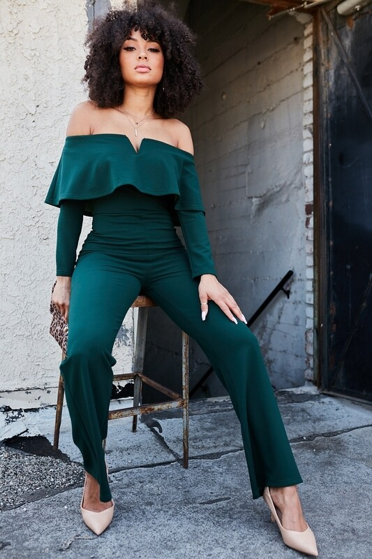Jumpsuits | Off-The-Shoulder-Jumpsuit