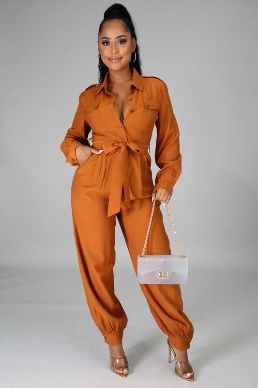 JUMPSUITS| Jump-to-it- Jumpsuit