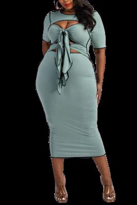 Dresses| Sexy Cut out Midi Dress
