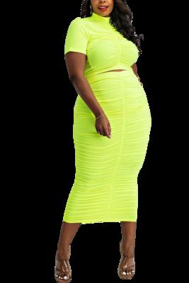 Skirt  Bright Ruch skirt set