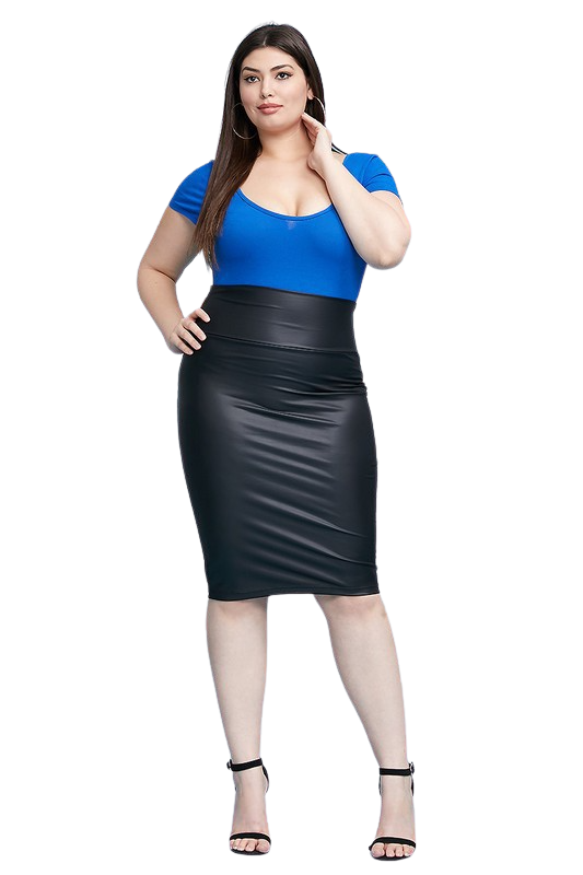 Skirts| Sexy Head-turning Faux Leather Skirt