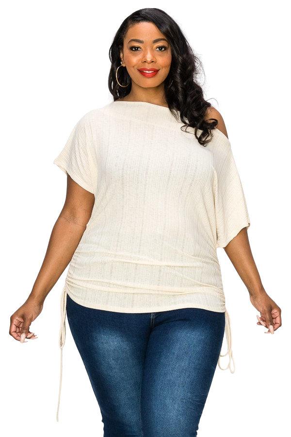 Plus Size Blouses| Boatneck Pullover top