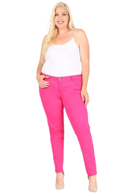 Jeans | Plus Size Mid-Waist Jeans from Discount Diva