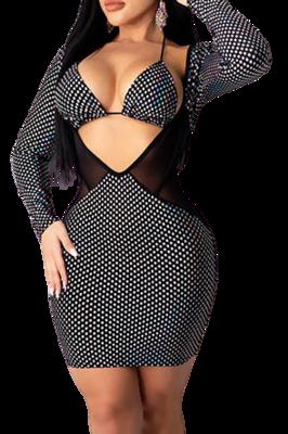 Dresses  Peek-A-B00 Mini Dress from Discount Diva