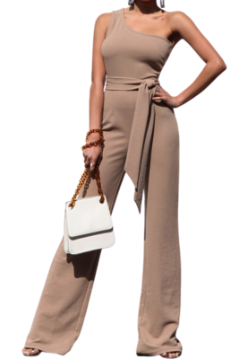 Pants| Over the shoulder Jumpsuit from Discount Diva