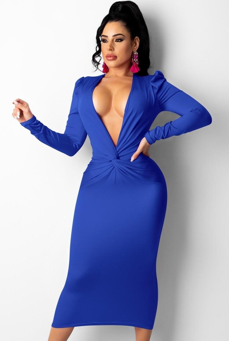 Dresses| Autumn Sexy Midi Dress