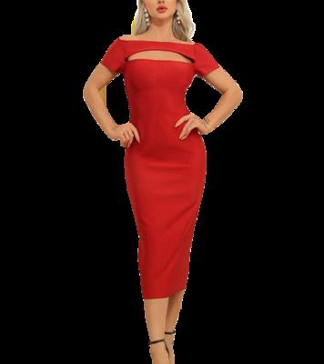 Style Drops| Elegant Bodycon Bandage Dress