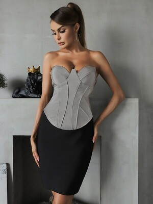 Style Drops| Sexy Halter Bandage Dress