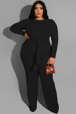Style Drops| Comfy Plus Size Pant set
