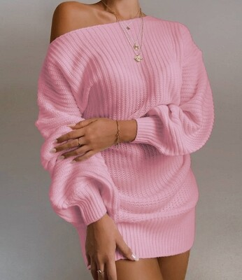 Style Drops| The Comfy Sweater Mini Dress