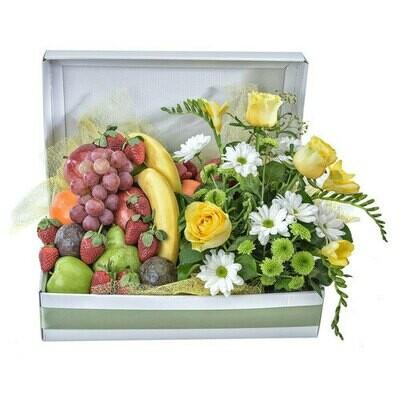 Seasonal fruit and flowers