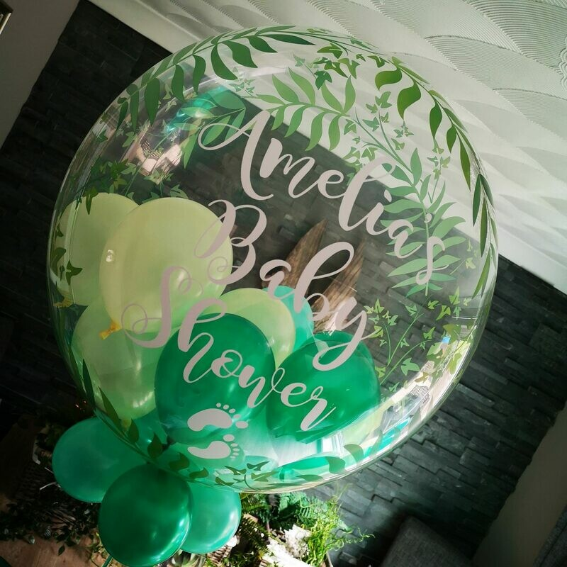 Large Printed 24 inch Personalised Balloons Store Collected