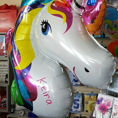 Unicorn Head - Can Be Personalised