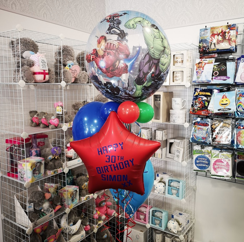 Avengers Personalised Balloon Bouquet