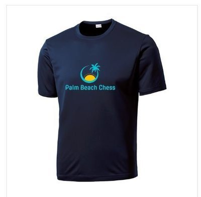 Palm Beach Chess - Athletic Tee