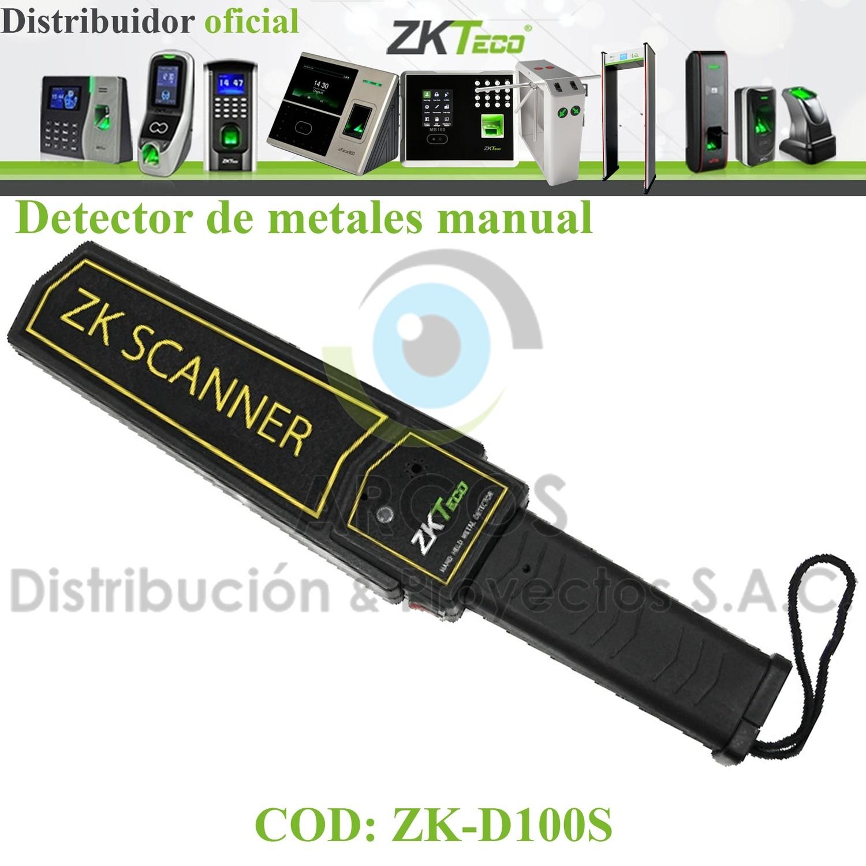 DETECTOR DE METALES MANUAL ZK-TECO