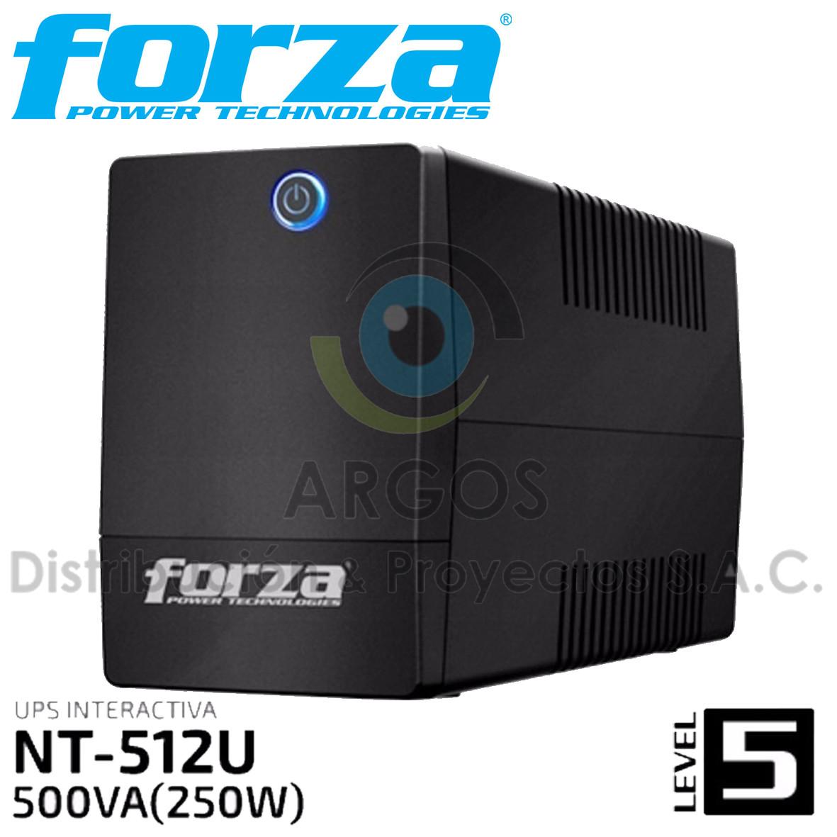 UPS FORZA 500VA   250W