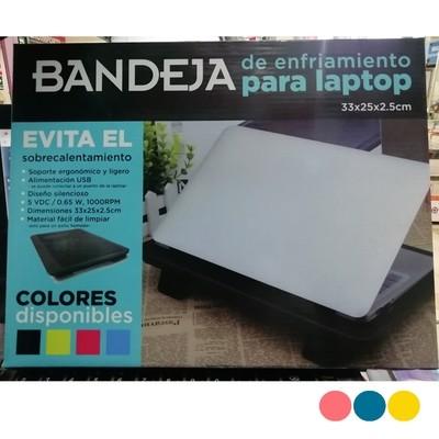 BANDEJA DE ENFRIAMIENTO PARA LAPTOP COOLPAD USB LED