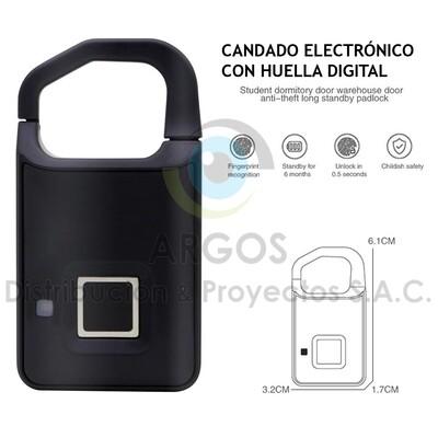 MINI CANDADO ELECTRÓNICO CON HUELLA DIGITAL