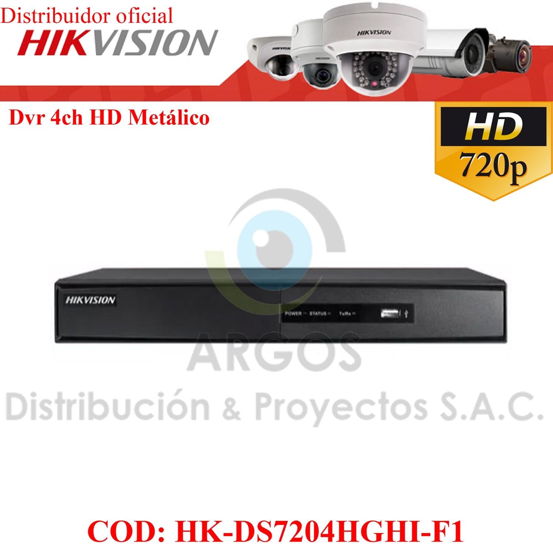 DVR 04CH HD 720P/1080P(Lite) HIKVISION