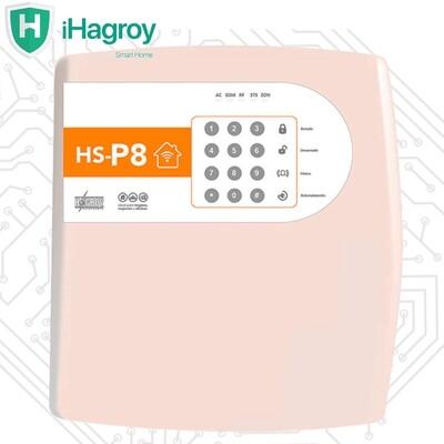 PANEL ALARMA ANTI ROBO TCP/IP SMART P8 HAGROY