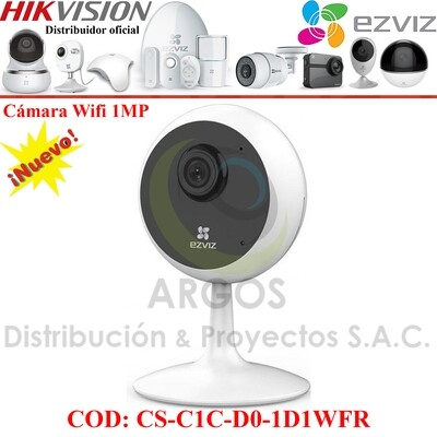CAMARA INTERIOR IP WIFI HD 720P / 1080P EZVIZ