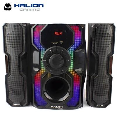 PARLANTE SUBWOOFER HALION MARTE HA-735BT 200W   BLUETOOTH   CONTROL REMOTO   SD+USB   FM   LED   KARAOKE