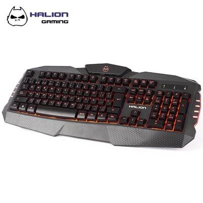 TECLADO GAMER LED HALION HA-K635 ULTRON